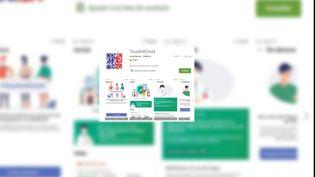 L'application TousAntiCovid est disponible sur Android et sur iPhone via les portails de téléchargement habituels. (TOUSANTICOVID)