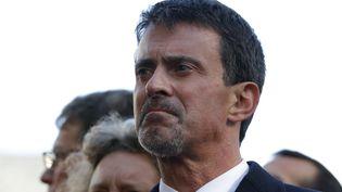 Manuel Valls, le 13 novembre 2017, à Paris. (PHILIPPE WOJAZER / POOL)
