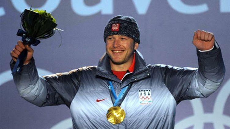 L'Américain savoure sa première médaille d'or