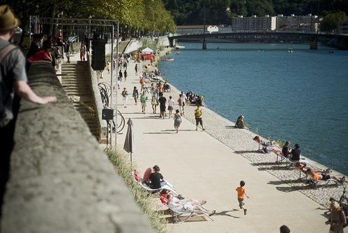 Les Rives de Saône, nouvel espace dédié à la promenade  (ITEM Corporate)