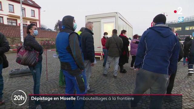 Moselle : les travailleurs frontaliers et les patrons allemands agacés par les nouvelles mesures sanitaires