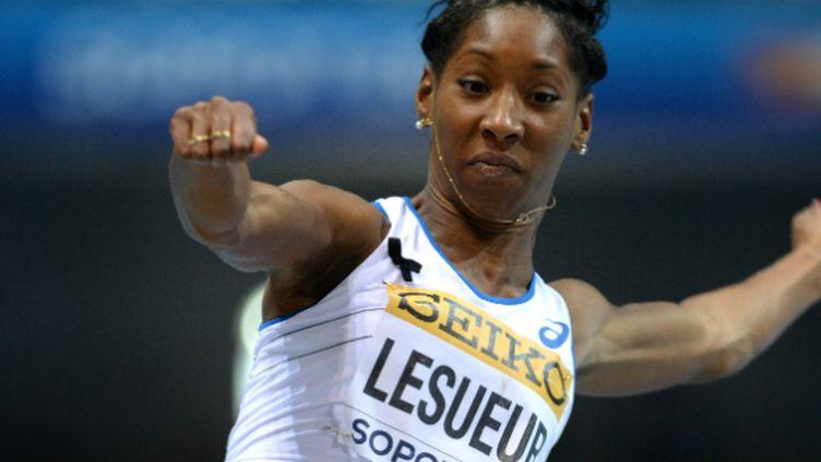 La sauteuse française Eloyse Lesueur