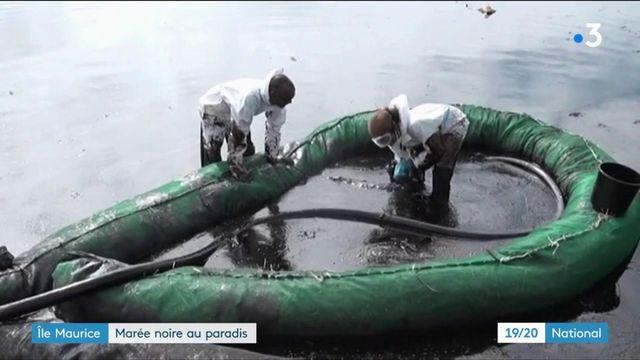 Île Maurice : une marée noire menace l'île