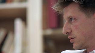 """Jonathan Littell, l'auteur de """"Les Bienveillantes"""", Goncourt 2006  (Anne-Christine Poujoulat / AFP)"""