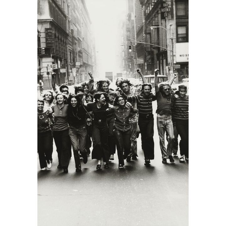 "Peter Hujar, ""Image de l'affiche du Front de libération gay"", 1970, The Morgan Library & Museum, achat en 2013 grâce au Charina Endowment Fund (© Peter Hujar Archive, LLC, courtesy Pace/MacGill Gallery, New York and Fraenkel Gallery, San Francisco)"