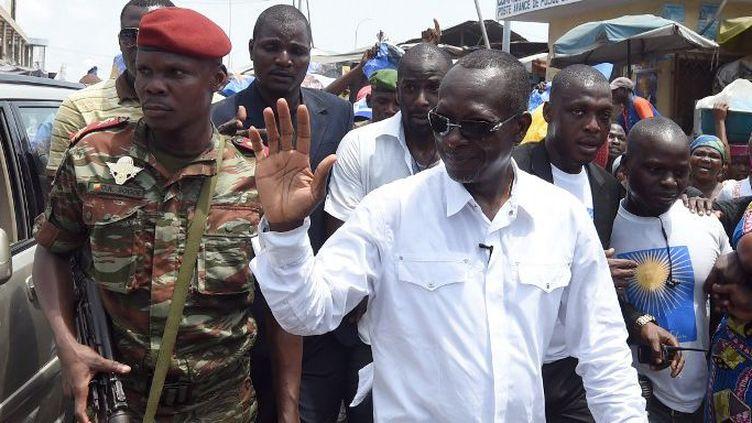 Patrice Talon à Cotonou le 4 Mars 2016 (Photo AFP/Pius Utomi Ekpei)