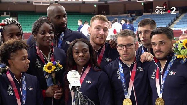 La folle épopée de l'équipe de France de judo lors de la finale par équipes mixte