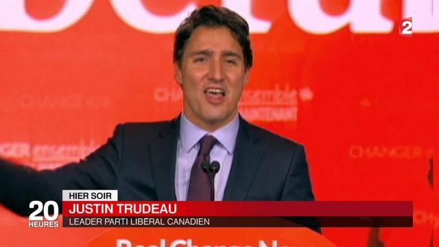 Justin Trudeau,  nouveau Premier ministre du Canada