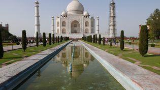 Le majestueux Taj Mahal, site incontournable pour une première visite en Inde du Nord, à quelques encâblures de la maison d'hôtes d'Hervé Vital (EMMANUEL LANGLOIS)