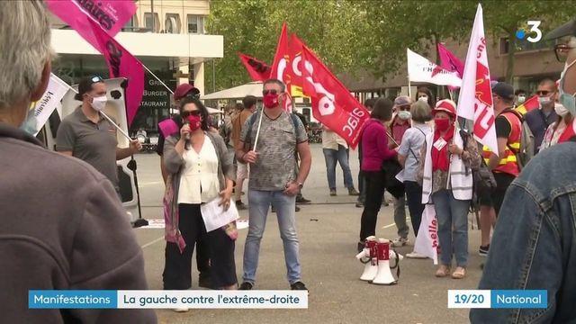 Marche des libertés : à Paris, des manifestants contre l'extrême droite et la politique du gouvernement