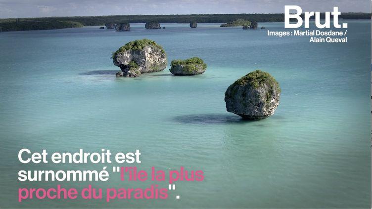 """VIDEO. """"L'île la plus proche du paradis"""", un lieu d'exception en Nouvelle-Calédonie (BRUT)"""