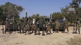 Le leader de Boko Haram, Aboubakar Shekau, dans une vidéo diffusée le 31 octobre 2014. (AP / SIPA)