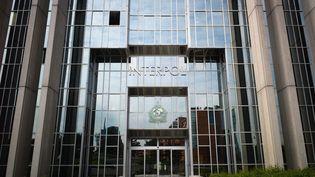 Le siège de l'organisation internationale de police criminelle Interpol à Lyon (Rhône), le 6 mai 2010. (JEAN-PHILIPPE KSIAZEK / AFP)