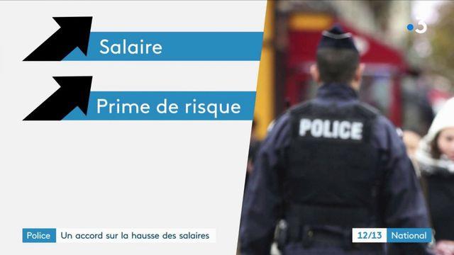 Police : un accord sur la hausse des salaires