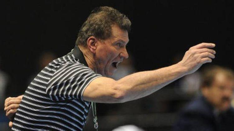 L'entraîneur des Bleues Olivier Krumbholz