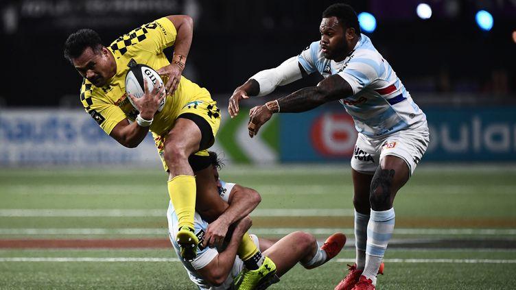 Clermont et le Racing se retrouvent pour une place en demi-finale (ANNE-CHRISTINE POUJOULAT / AFP)