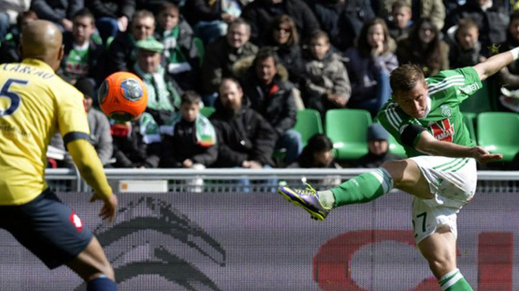 Franck Tabanou va retrouver le maillot vert (JEAN-PHILIPPE KSIAZEK / AFP)