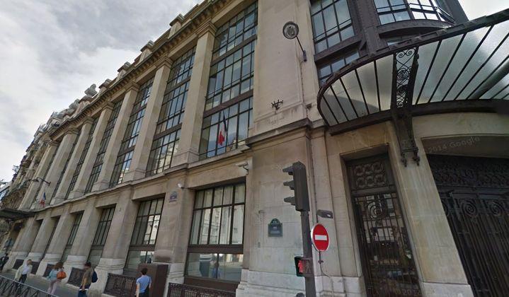 Les locaux de la direction de l'Administration pénitentiaire (AP), où est située la cellule EMS3, rue du Renard à Paris (4e arrondissement). ( GOOGLE MAPS / FRANCETV INFO )