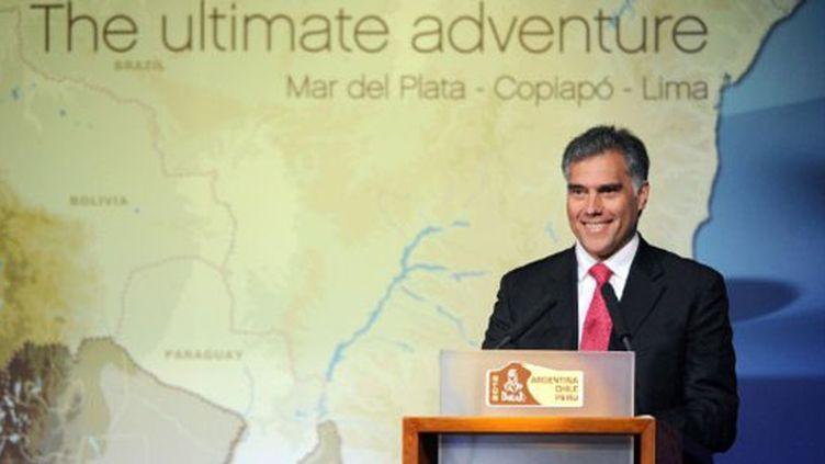 Francisco Boza Dibos président de l'Institut des Sports du Pérou