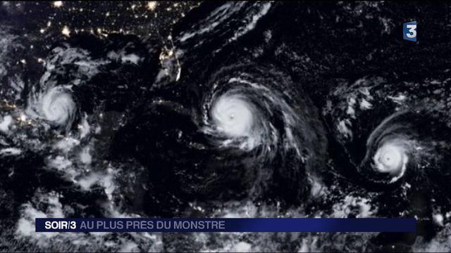 """Irma : dans l'oeil du cyclone, à bord des avions """"chasseurs d'ouragan"""""""