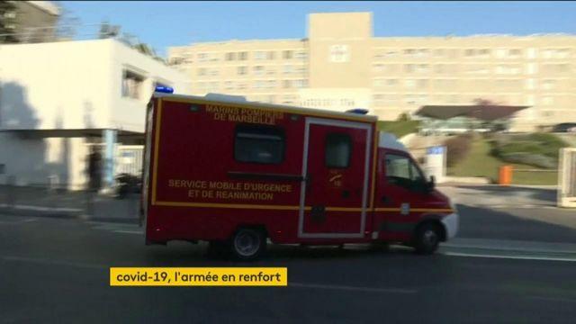 Coronavirus : l'armée vient soulager l'hôpital de Mulhouse