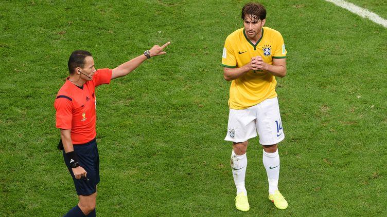 Maxwell sous le maillot des Auriverde  (EVARISTO SA / AFP)