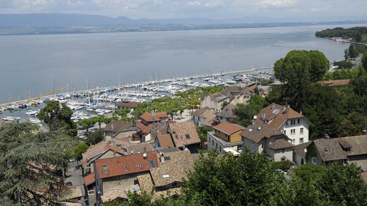 Vue générale de Thonon-les-Bains le port et le lac Leman (illustration). (©PATRICK GARDIN/WOSTOK PRESS / MAXPPP)