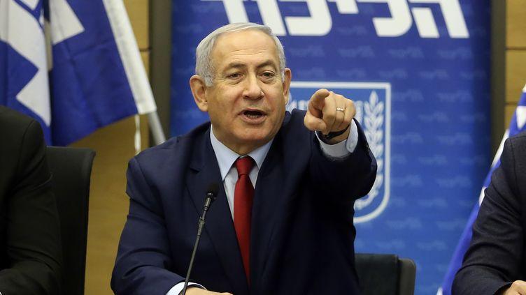 Le Premier ministre israélien Benyamin Nétanyahou, le 24 décembre 2018, à Jérusalem. (MARC ISRAEL SELLEM / AFP)