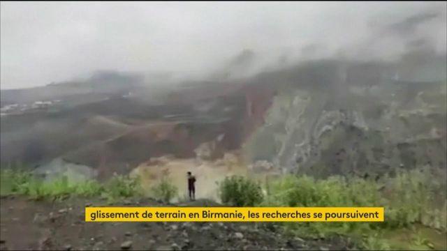 Birmanie : plus de 170 mineurs tués dans un glissement de terrain