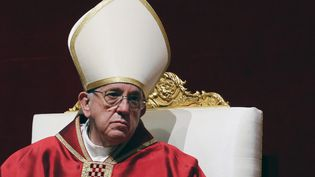 Le pape François, le 25 mars 2016 à Rome (Italie). (ALESSANDRO BIANCHI / REUTERS)