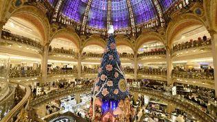 Les Galeries Lafayette à Paris, le 27 novembre 2013. (BERTRAND GUAY / AFP)