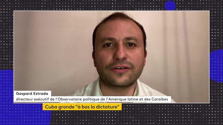 Gaspard Estrada. (franceinfo)