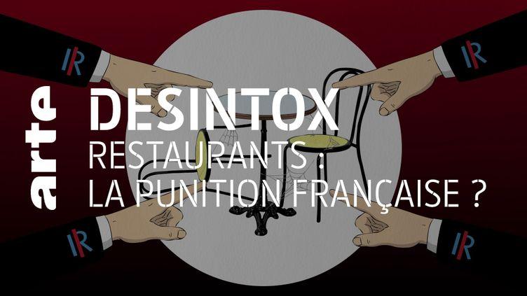 Non, la France ne sera pas le dernier pays européen à rouvrir ses restaurants (ARTE/2P2L)
