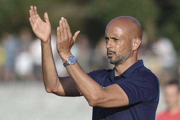 Miguel Cardoso, nouvel entraîneur du FC Nantes  (SEBASTIEN SALOM GOMIS / AFP)