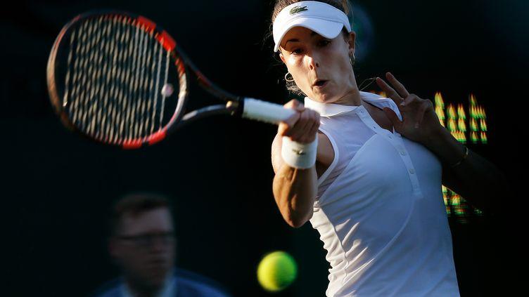 Alizé Cornet joue gros devant le tribunal disciplinaire de l'ITF' (ADRIAN DENNIS / AFP)