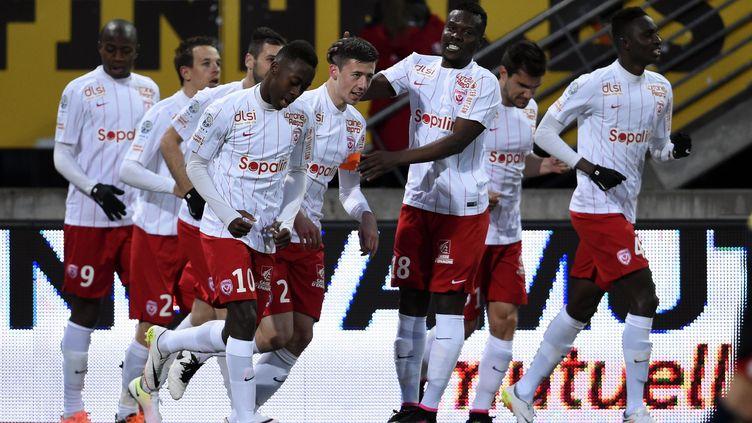 Les joueurs de Nancy sont en Ligue 1 ! (/NCY / MAXPPP)