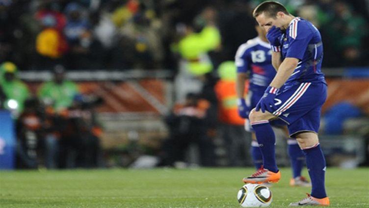 Franck Ribéry (France) (PIERRE-PHILIPPE MARCOU / AFP)
