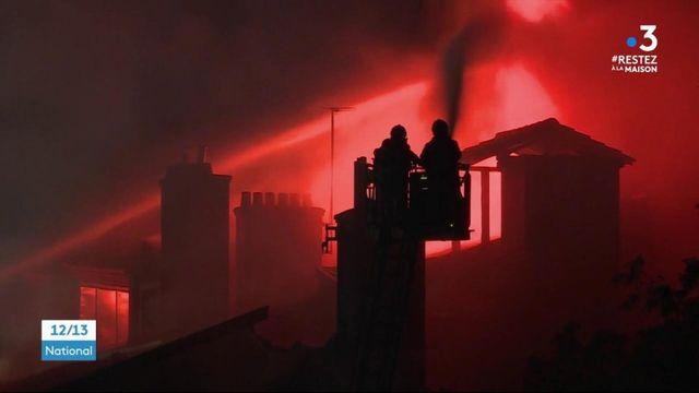 Rhône : violent incendie dans un immeuble de Lyon