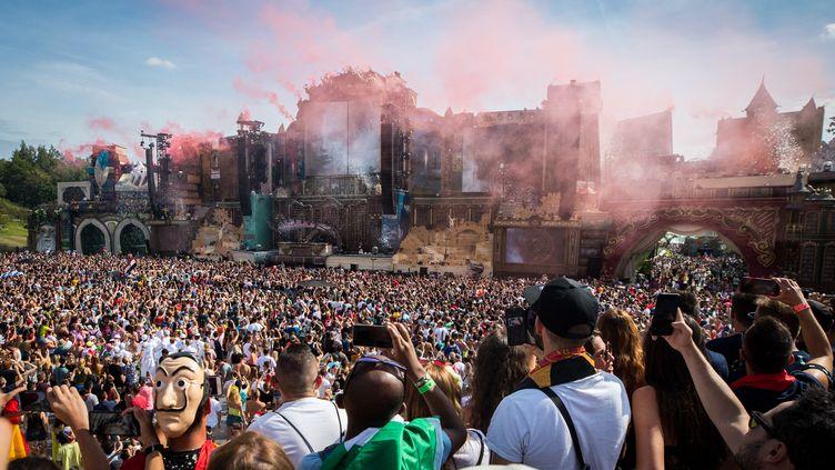 Premier jour du festival de musique Tomorrowland, le 19 juillet 2019. (DAVID PINTENS / BELGA MAG)