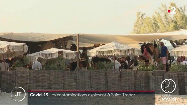 Coronavirus: les contaminations explosent à Saint-Tropez
