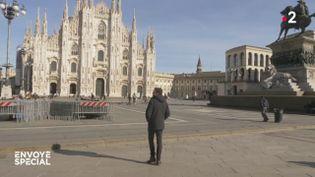 Ma vie en quarantaine à Milan (ENVOYÉ SPÉCIAL  / FRANCE 2)