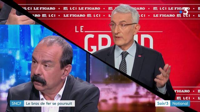 SNCF : le bras de fer se poursuit