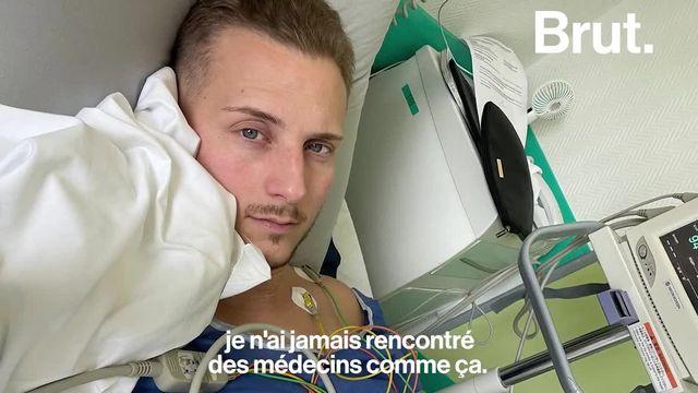 Adrien a frôlé la mort après avoir été gravement blessé lorsqu'il était militaire. Devenu paraplégique, il pensait ne jamais pouvoir remarcher. C'était sans compter les progrès de la science...
