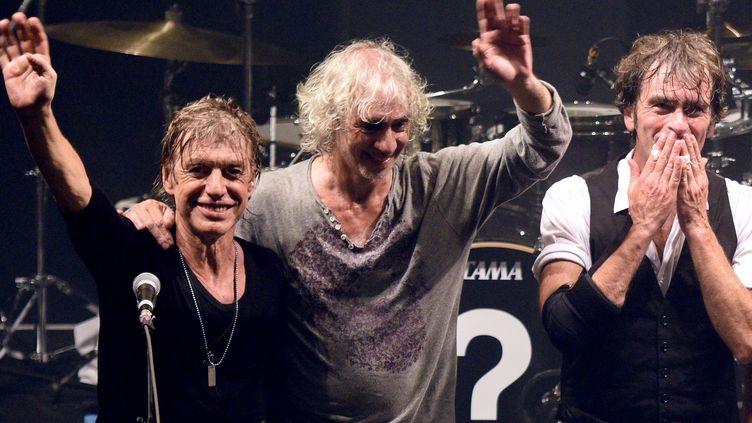 Les Insus (Jean-Louis Aubert, Louis Bertignac et Richard Kolinka) en concert à Lille (15 septembre 2015)