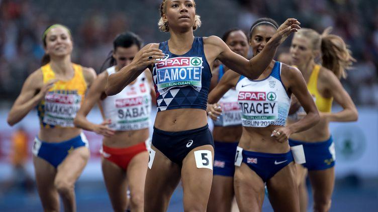 Rénelle Lamote qualifiée en finale du 800 mètres (SVEN HOPPE / DPA)