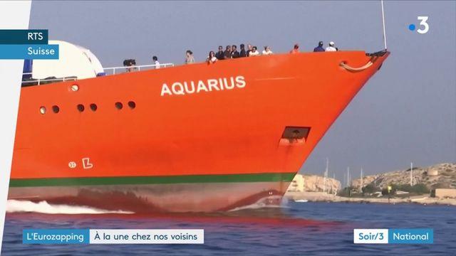 Eurozapping : le diesel chassé de Berlin, un pavillon suisse pour l'Aquarius ?
