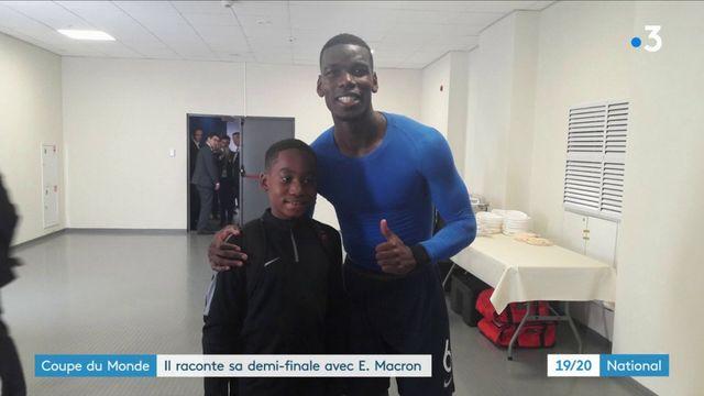 Coupe du monde 2018 : le rêve éveillé du jeune Yannel