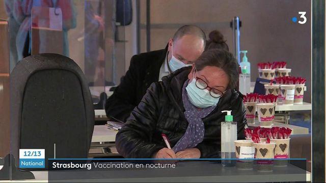Covid-19 : les habitants de Strasbourg peuvent se faire vacciner la nuit