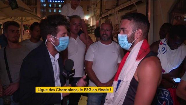 Ligue des Champions : la joie des supporters parisiens à Lisbonne