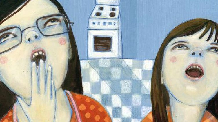"""""""Ma soeur et moi"""", de Cécile Roumiguière  (Bobi+Bobi / La joie de lire)"""